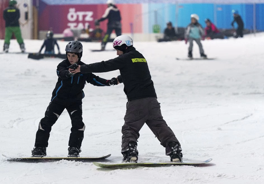 Unwind at The Snow Centre